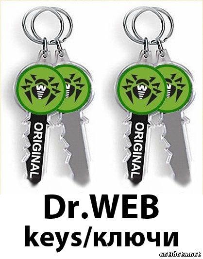 бесплатно скачать ключ Dr Web - фото 6